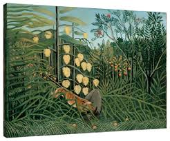 Buffalo Home Decor Henri Rousseau Paintings High Quality Henri Rousseau Paintings
