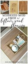 coffee table makeover driftwood finish artsy rule