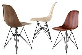 Herman Miller Armchair New Wood Molded Eames Chairs From Herman Miller