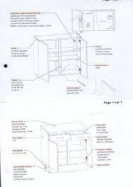 systeme fixation meuble haut cuisine caisson de cuisine haut collection et comment monter un meuble de