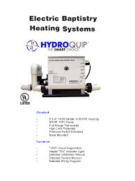 baptistry heater baptistry product guide fiberglass unlimited