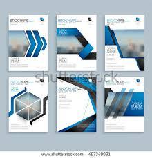 professional brochure design templates creative business brochure set corporate template stock vector