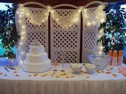 wedding anniversary backdrop five ways to enhance outdoor wedding décor