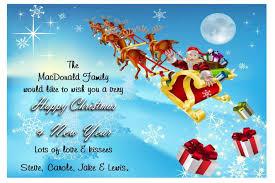 clear acrylic st card sayings u happy holidays