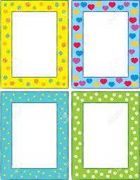Set Original Funny Vector Decorative Frames This Is A Vector