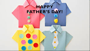 easy origami paper shirt what a cute fathers day card full diy