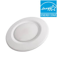 Recessed Lighting Fixtures Home Depot Commercial Electric 4 In Soft White Recessed Led Can Disk Light