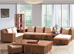 Wicker Indoor Sofa Indoor Wicker Furniture Indoor Rattan Living Room Furniture 6