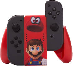 amazon com powera joy con comfort grip super mario odyssey