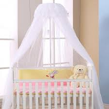 baby crib netting canopy bed mosquito net breathable insect