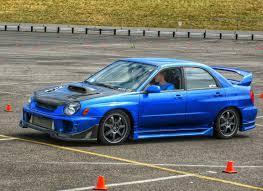 subaru hybrid sedan 2002 subaru wrx sti hybrid autocross lap pt 2 youtube