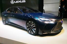 lexus lfa concept hydrogen powered lexus lf fc concept shown in tokyo auto express