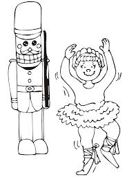 nutcracker coloring kids coloring