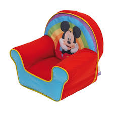 Blow Up Furniture by Disney Mickey Mouse Inflatable Chair For Kids Amazon Co Uk