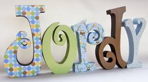 baby room decorations letters photograph baby boy wood nur
