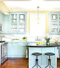 meuble cuisine jaune peinture cuisine bleu couleur peinture cuisine jaune peinture