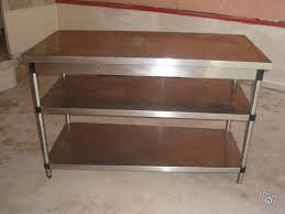 meuble inox cuisine pro cuisine inox occasion outil intéressant votre maison