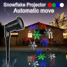 automatic outdoor christmas lights automatic move led snowflake projector landscape kerstverlichting