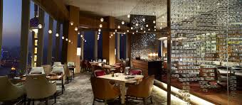 Restaurant Dining Room Scena Italian Restaurant The Ritz Carlton Shanghai Pudong