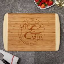 personalized engraved cutting board bamboo cutting board with custom engraving