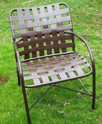 Tropitone Patio Chairs Patio And Pool Furniture Repair Vinyl Strapping Strap Replacements