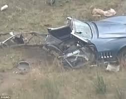 corvette crash killed after smashing car into a tree as she raced