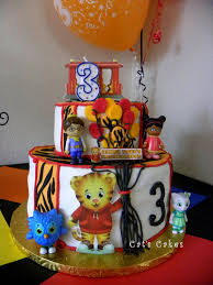 daniel tiger cake the cherry on top events party a daniel tiger s 3rd birthday