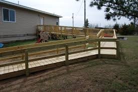 Wheelchair Ramp Handrails Building Home Wheelchair Ramp U2014 Part 1 Lindee Construction