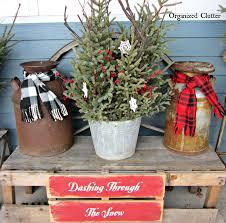 outside rustic christmas decorations u2013 happy holidays