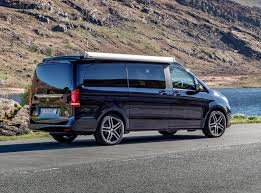 mercedes minivan mercedes benz v class marco polo review parkers