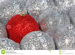 silver ornaments royalty free stock images image