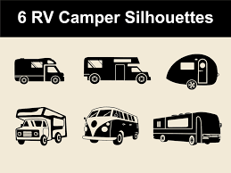 volkswagen clipart camper silhouette cliparts many interesting cliparts