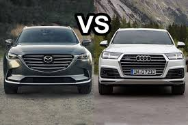 2017 mazda cx 9 vs 2016 audi q7 design jdm mazda pinterest