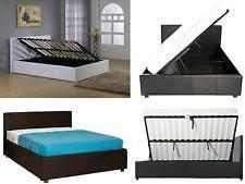 side lift ottoman storage sleigh bed ottoman beds beds mattresses ebay