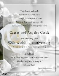 50th wedding anniversary invitations 50th wedding anniversary invitation wording 50th wedding