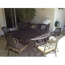 7pc Patio Dining Set B00f6rhyw4 Heritage Outdoor Living Elisabeth Cast Aluminum 7pc