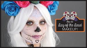 halloween makeup bride day of the dead halloween make up tutorial claire u0027s youtube