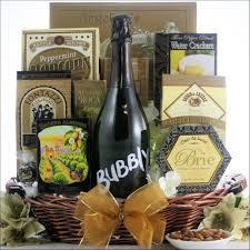 Wine Gift Basket Bubbly Sparkling Wine Champagne Gift Basket