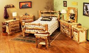 The Bedroom Furniture Store by The Rustic Realm Log Bedroom Furniture Log Bed Log Dresser