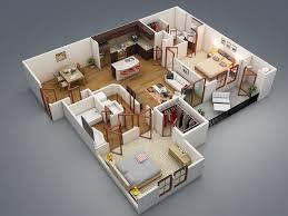 Apartment Design Plans 8 Best 3d Floor Plans Images On Pinterest Architecture House