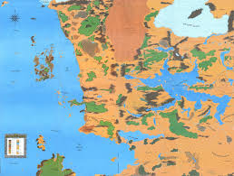 Continents On Map Category Continents Forgotten Realms Wiki Fandom Powered By Wikia