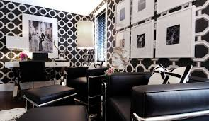 living room beautiful art deco living room with patterned wall