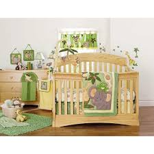 Jungle Themed Nursery Bedding Sets 199 99 In Store Or Ships In 1 2 Days Nojo Jungle Babies 9