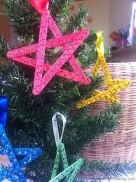 Holiday Crafts For Kids Easy - easy christmas crafts for kids craft stick stars craft sticks