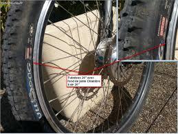 changer une chambre à air vtt objectif confort fourche suspendue et ou gros pneus taille