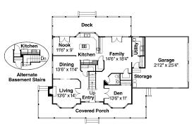 Country House Plan by Country House Plan Cimarron 10 208 1st Floor Plan Floor Plans For