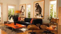 what color rug goes with a brown couch paint colors that go with