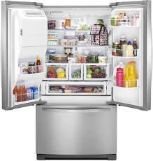 Whirlpool French Door Refrigerator Price In India - whirlpool wrf757sdem 36 inch french door refrigerator with 26 8 cu