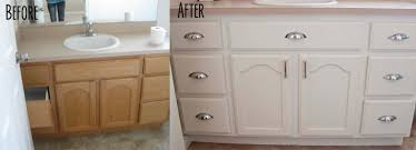 white with chalk paint painting bathroom vanity with chalk paint