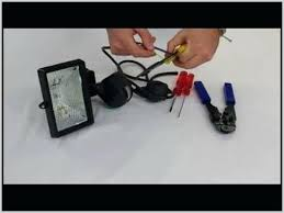 Installing A Motion Sensor To An Existing Light Fixture Add Motion Sensor To Existing Outdoor Light Outdoor Motion Lights